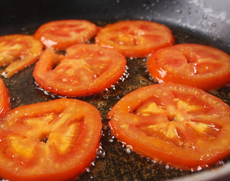 طماطم وبيض